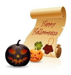 Concept - Halloween vector image