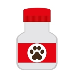Veterinary medicine icon vector