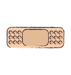 Isolated bandage design vector