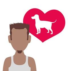 Pet care design vector