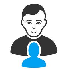 User partner icon vector