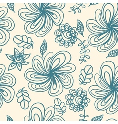 Abstract spring floral background vector