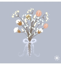 beautiful decoration with vector image