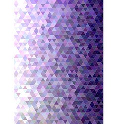 Abstract triangle mosaic transition background vector