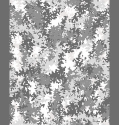 digital fashionable camouflage vector image vector image