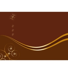 Royal chocolate background vector