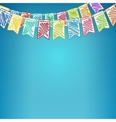 Festive Colored Background vector image