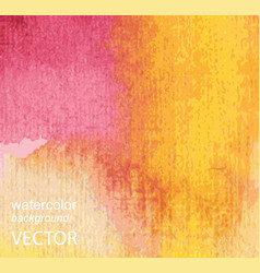 abstract watercolor hand painted background vector image vector image
