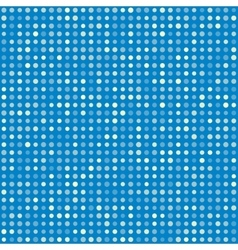Blue pattern of multiples dots vector