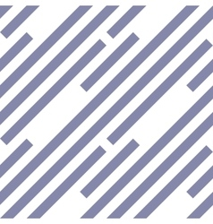 Seamless geometric pattern Stripy texture vector image vector image