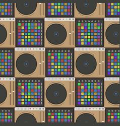 Creative modern musical instrument concept midi vector