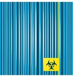 Biohazard sign icon Danger symbol vector image