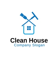 Clean House Design vector image vector image