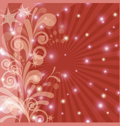 red holiday background vector image vector image