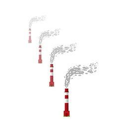 Smoking Chimneys vector image