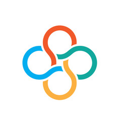olimpic logo vector image