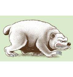 Scary Bear vector image