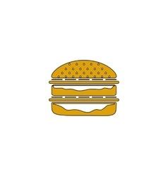Hamburger computer symbol vector