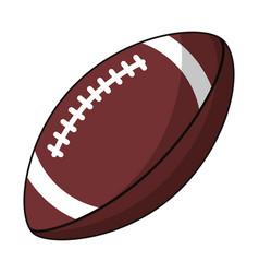 american football sport image vector image vector image