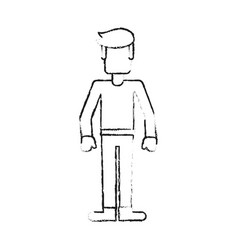 man faceless avatar vector image vector image