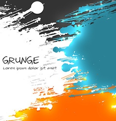 Multicolor Grunge Background vector image