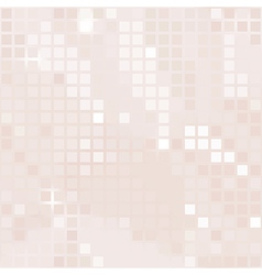 pale pink background of small squares vector image vector image