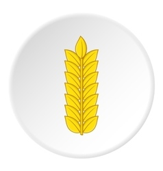 Wheat icon cartoon style vector image vector image