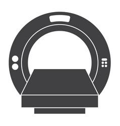 Computer tomography icon vector