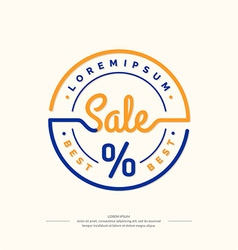 Background for sales vector