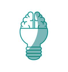 Big idea bulb symbol vector