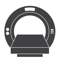 Computer tomography icon vector