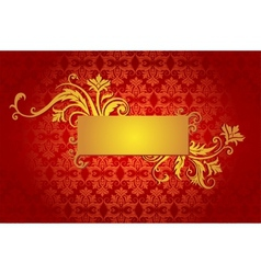 Design for greeting card vector image