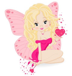 magical little fairy vector image vector image