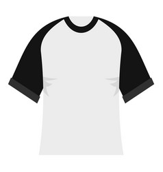 Baseball shirt icon isolated vector