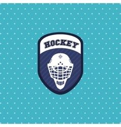 Hockey sport design vector