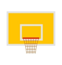 Basketball hoop sport basket game play competition vector