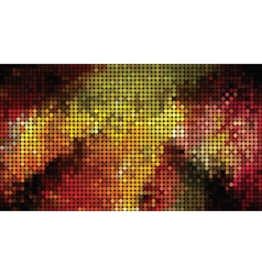 abstract bright mosaic vector image