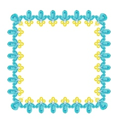 Jewelry frame vector