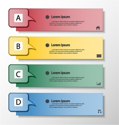 Modern design banners template vector image