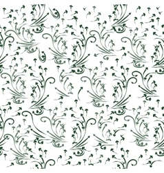 Natural seamless pattern vector image vector image