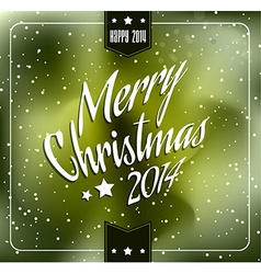 2014 christmas and new year themed frame vector