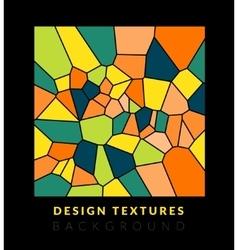 Abstact voronoi design background vector