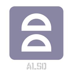Also conceptual graphic icon vector