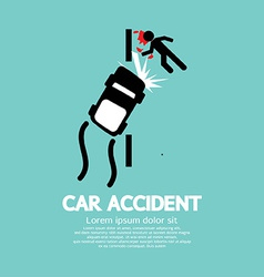 Car Accident vector image