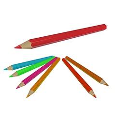 Pencils vector