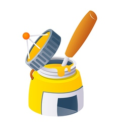 Icon paint can vector