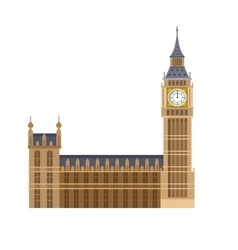 The big ben vector