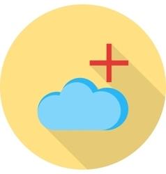 Add cloud vector