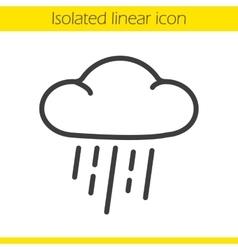 Rain icon vector