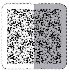 Animal print bacground icon vector